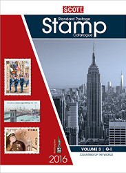 2016 Scott Catalogue Volume 3 - (Countries G-I) Standard Postage Stamp