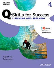 Q Skills for Success Listening and Speaking 2E Level 4 Student Book (Q Skills