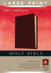 Holy Bible NLT Personal Size Large Print edition