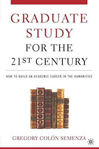 Graduate Study for the Twenty-First Century