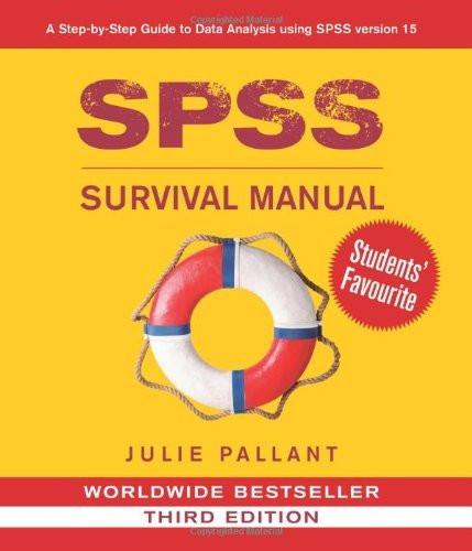 spss survival manual pallant julie isbn 9780335242399 0335242391 rh americanbookwarehouse com spss survival manual 5th edition ebook spss survival manual 5th edition ebook