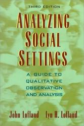 Analyzing Social Settings