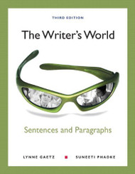 Writer's World: Sentences And Paragraphs