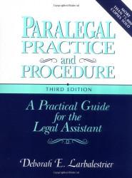 Paralegal Practice And Procedure