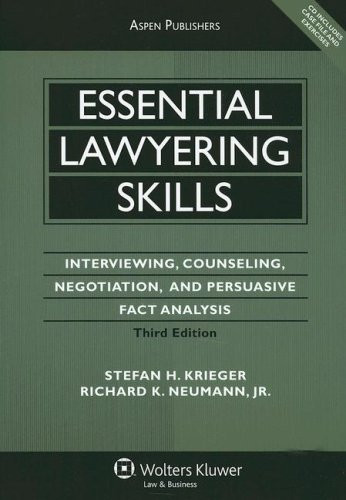 Essential Lawyering Skills