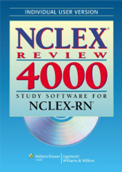 NCLEX Review 4000 Study Software for NCLEX-RN