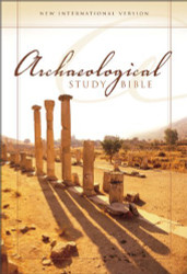 Niv Archaeological Study Bible Large Print An Illustrated Walk Through Biblical