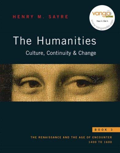 Humanities Culture Continuity And Change Book 3