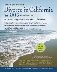 How To Do Your Own Divorce In California In