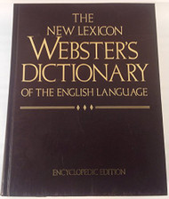 New Lexicon Webster's Dictionary of the English Language Encyclopedic Edition