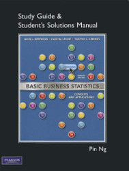 Student Solutions Manual For Basic Business Statistics