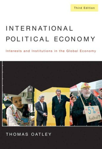 international political economy Professor cohen, a specialist in international political economy, joined the department in 1991 he previously taught at princeton university from 1964-1971 and at the fletcher school of law.