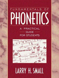 Fundamentals Of Phonetics
