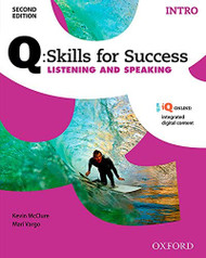 Q Skills for Success Listening and Speaking 2E Intro Student Book