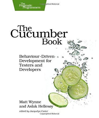 Cucumber Book