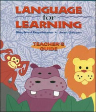 Language for Learning Grade Levels Pre-K - 2 Teacher's Guide