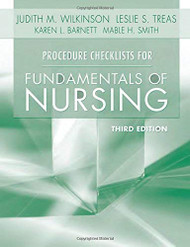 Procedure Checklists For Fundamentals Of Nursing