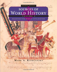 Sources Of World History Volume 1