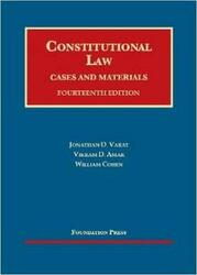 Constitutional Law Cases And Materials