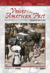Voices Of The American Past Volume 1