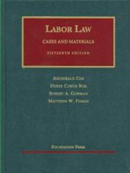 Cox and Bok's Labor Law