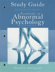 Study Guide For Essentials Of Abnormal Psychology