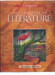 Language Of Literature Teacher's Edition Grade 9 2006