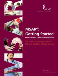 MSAR  Getting Started Medical School Admission Requirements