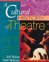 Cultural History Of Theatre