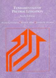 Fundamentals Of Pretrial Litigation