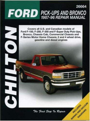 Chilton's Ford Pick-Ups And Bronco 1987-96 Repair Manual