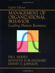 Management Of Organizational Behavior