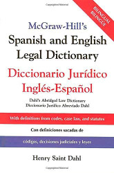 Mcgraw-Hill's Spanish And English Legal Dictionary