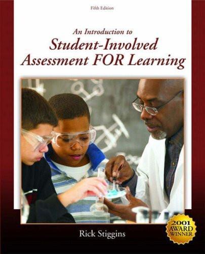 Student-Involved Assessment For Learning