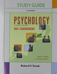 Study Guide for Psychology in Modules