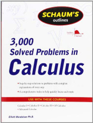 Schaum's 3000 Solved Problems In Calculus