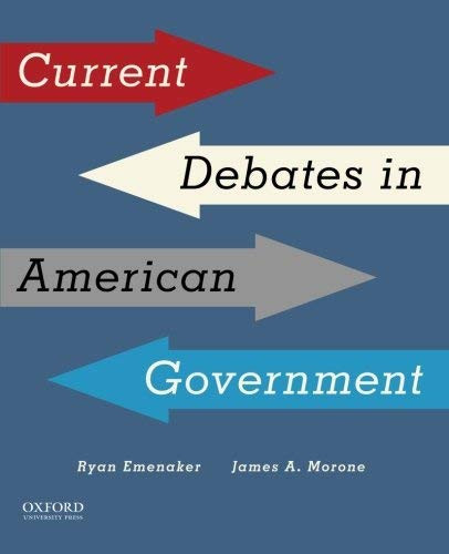 Current Debates in American Government