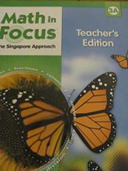 Math In Focus The Singapore Approach Grade 3A Teacher's Edition