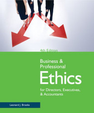Business And Professional Ethics For Directors Executives And Accountants