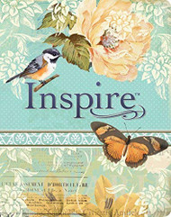 Inspire Bible NLT: The Bible for Creative Journaling (Inspire: Full Size)