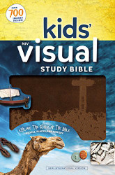 NIV Kids' Visual Study Bible Leathersoft Bronze Full Color Interior