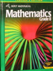 Holt Mcdougal Mathematics Grade 8 Teacher's Edition