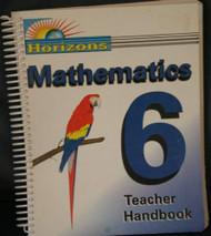 Horizons Mathematics Grade 6 Teacher's Edition