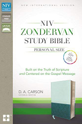 NIV Zondervan Study Bible Personal Size Imitation Leather Light