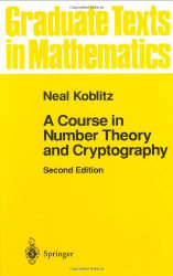Course in Number Theory and Cryptography