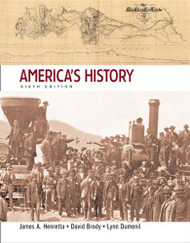 America's History  by James A Henretta