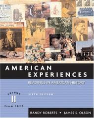 American Experiences Volume 2