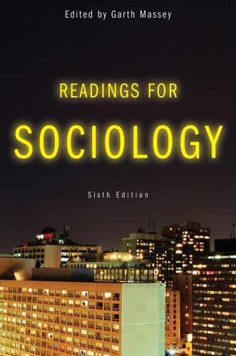 Readings For Sociology