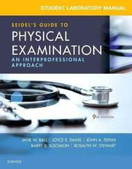 Student Workbook for Seidel's Guide to Physical Examination