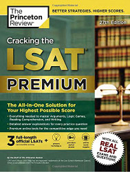 Cracking the LSAT Premium with 3 Real Practice Tests